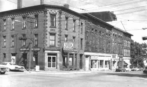 Powell Block, Sackville 1960