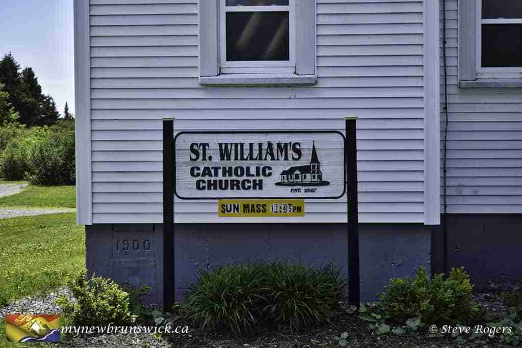 St. Williams Roman Catholic Church, Bains Corner