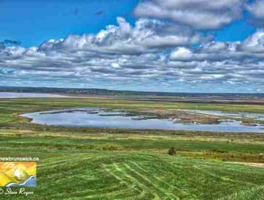 Tonge's Island Tantramar Marsh Sackville NB