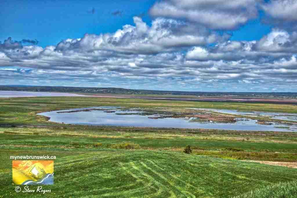 Tonge's Island Tantramar Marsh Sackville NB