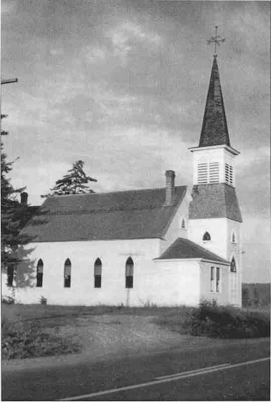 Meductic Baptist Church 1931