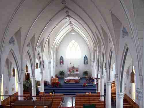 Saint-Basile Church. Photo by Société historique du Madawaska