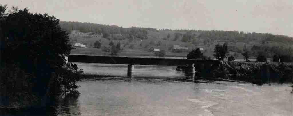 Meductic Train Bridge