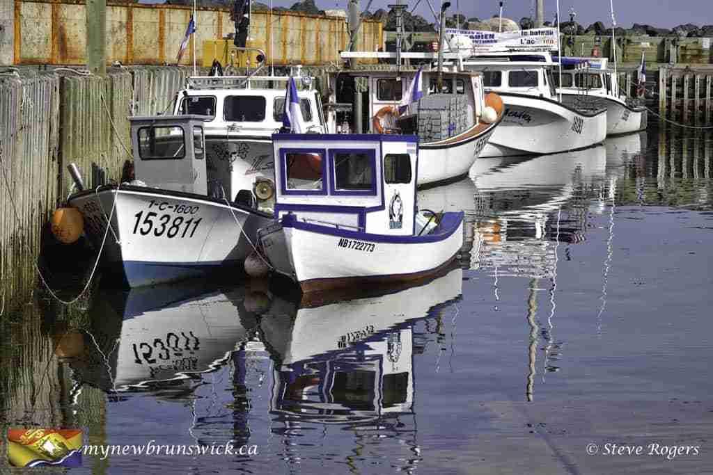 Fishing Boats at Petit-Rocher Wharf