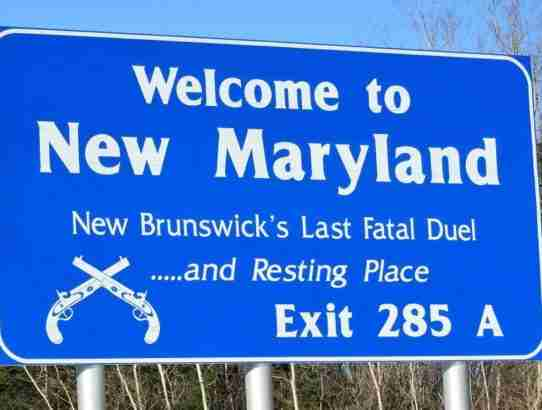 Last Fatal Duel in New Brunswick