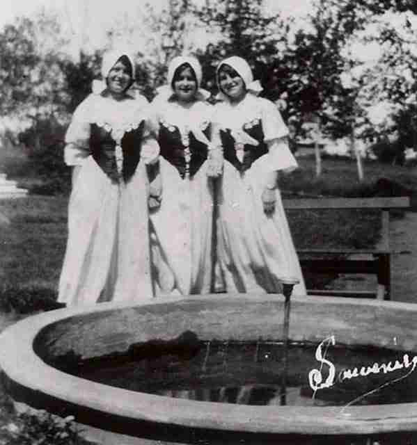 Nuns at Bouctouche Convent 1932