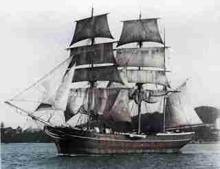 """""""Annie G."""" - Wooden schooner"""