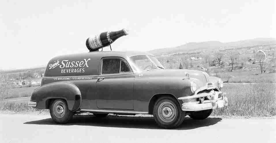 Sussex Golden Ginger Ale Vehicle