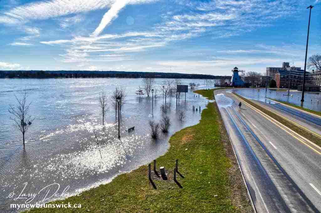 Spring Freshet 2018 Fredericton