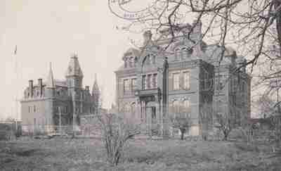 Wiggins Male Orphan Asylum Marine Hospital Saint John NB