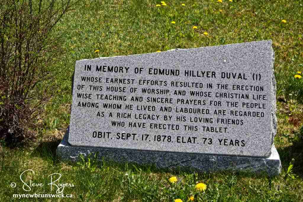 Edward H. Duval Memorial