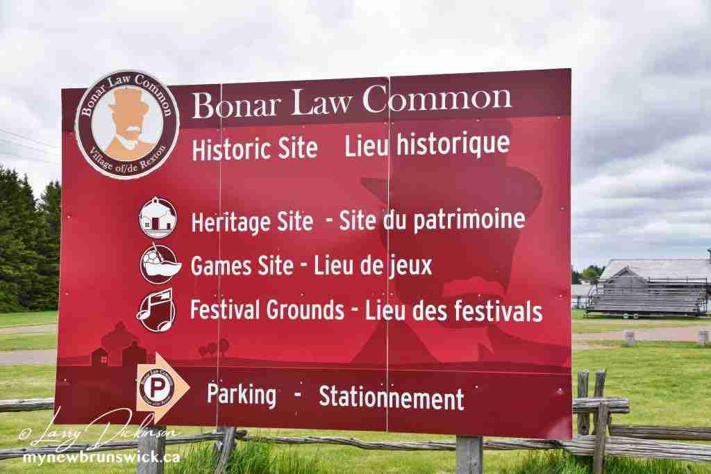 Andrew Bonar Law Common, Rexton, NB