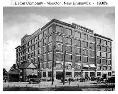 T. Eaton Company, Moncton