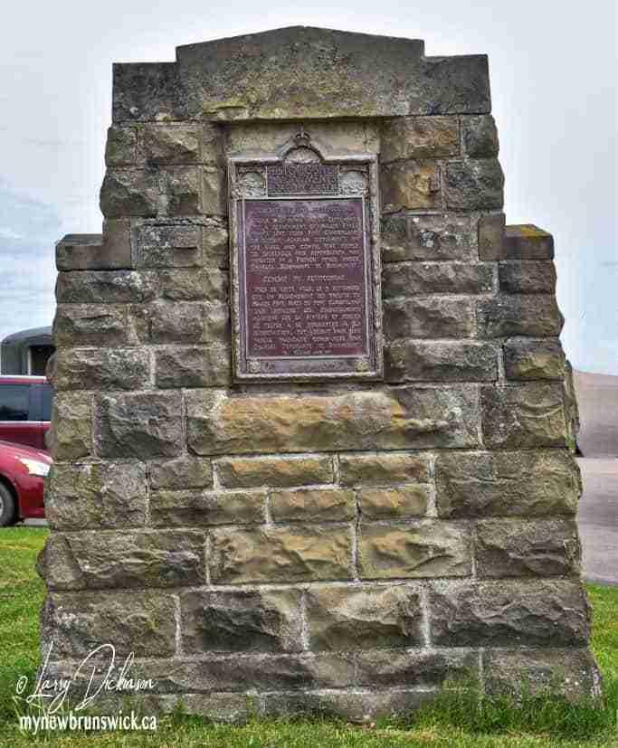 Acadian Battlefield Monument