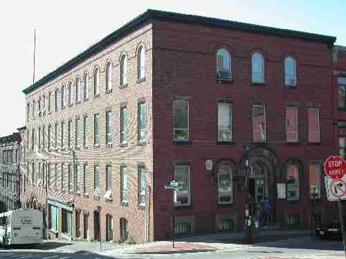At one time the Hotel Aberdeen in Saint John