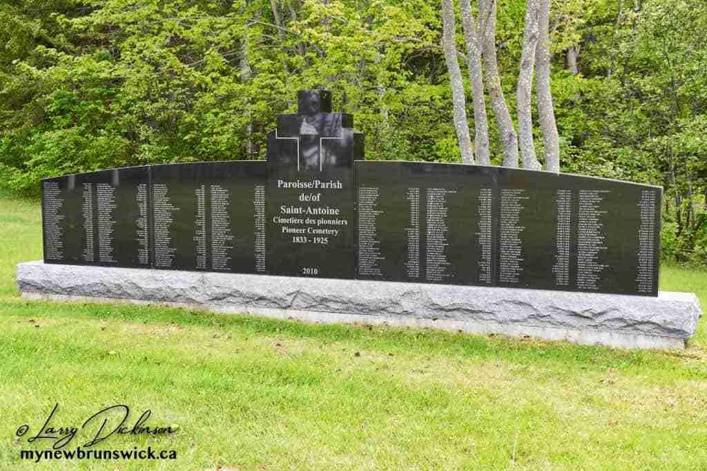 Pioneers Monument Saint-Antoine NB