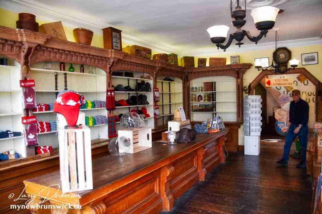 Barbours General Store interior Saint John