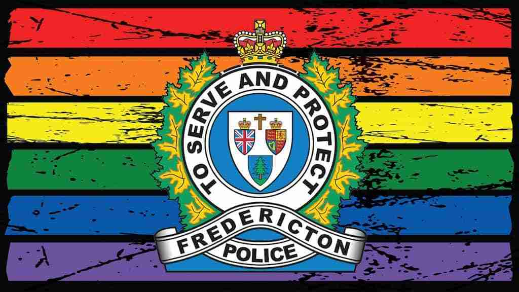 Fredericton Police Department Pride Logo