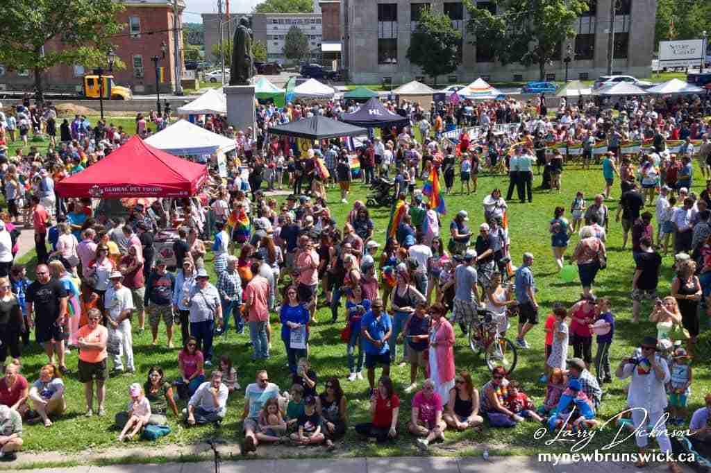Fredericton Pride Parade 2018