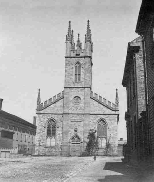 St. John Stone Church, Saint John