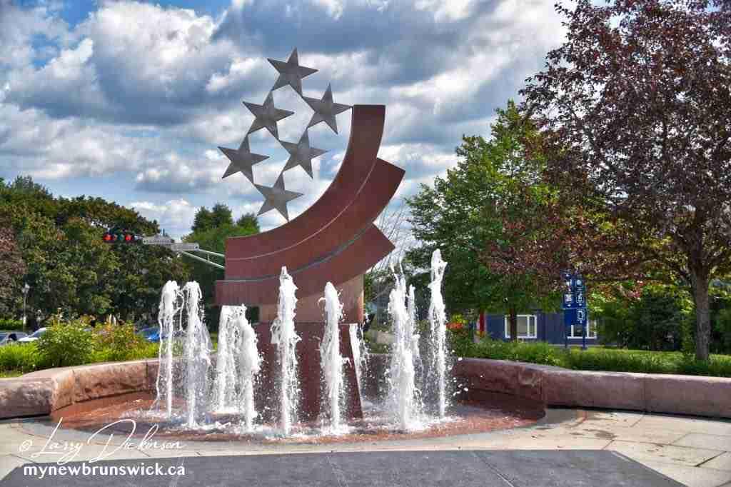 City Hall Square, Edmundston NB