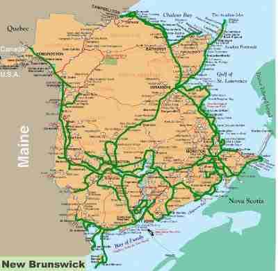 MyNewBrunswick Coverage Map