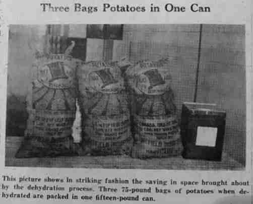 Hatfield Bags of Potatoes
