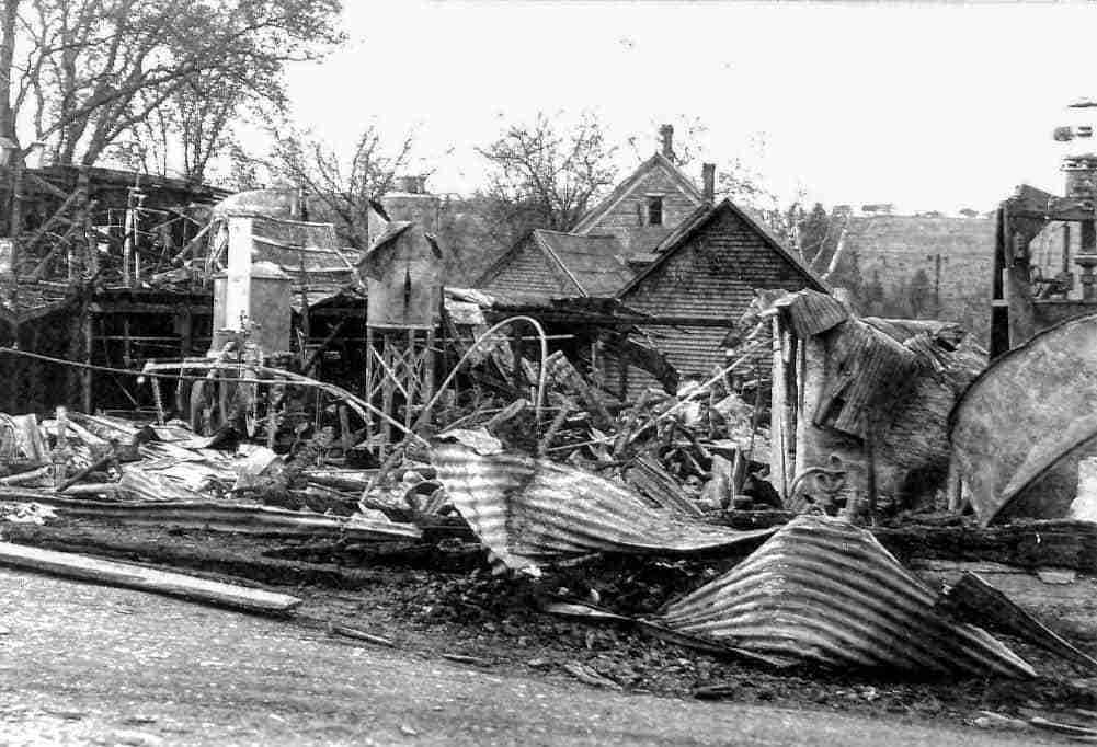 Hatfield Plant Fire