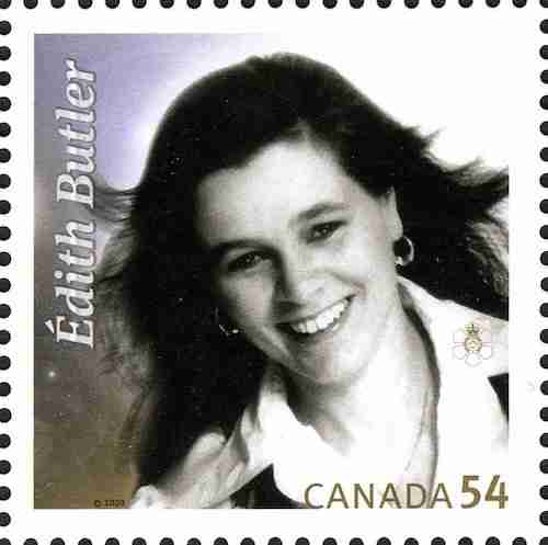 Edith Butler, Stamp