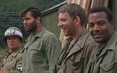 Donald Sutherland in The Dirty Dozen