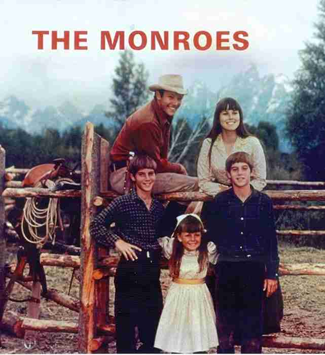 Barbara Hershey, Michael Anderson Jr., Tammy Locke, and Keith Schultz in The Monroes (1966)