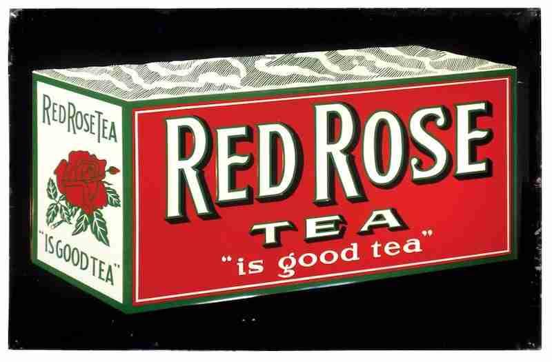 Rde Rose Tea Box