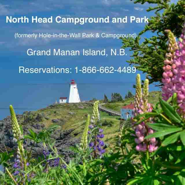 North Head Campground & Park, Grand Manan NB