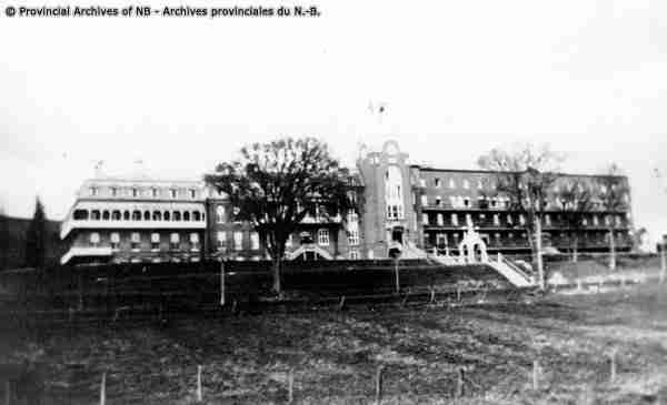 Original Hôtel-Dieu Hospital - Saint-Basile NB