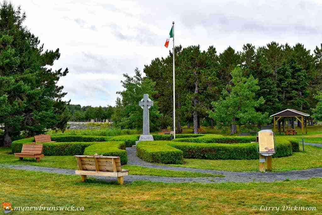Middle Island Irish Historical Park