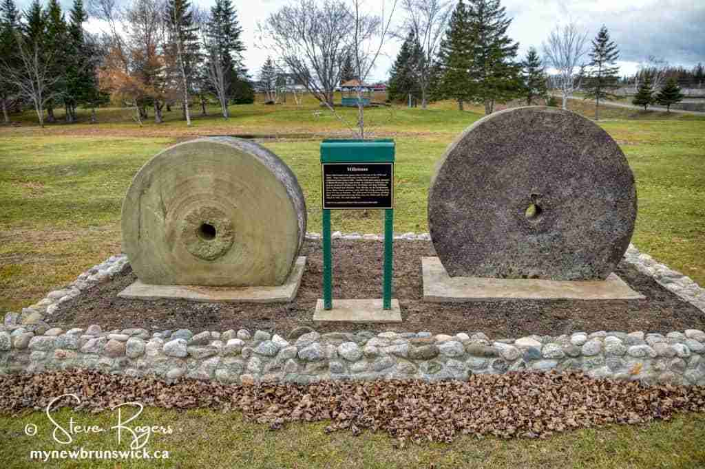 Blackville NB Millstones