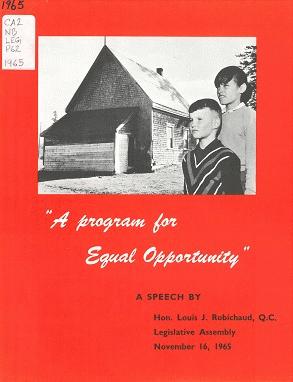 Robichaud's Equal Opportunity Program