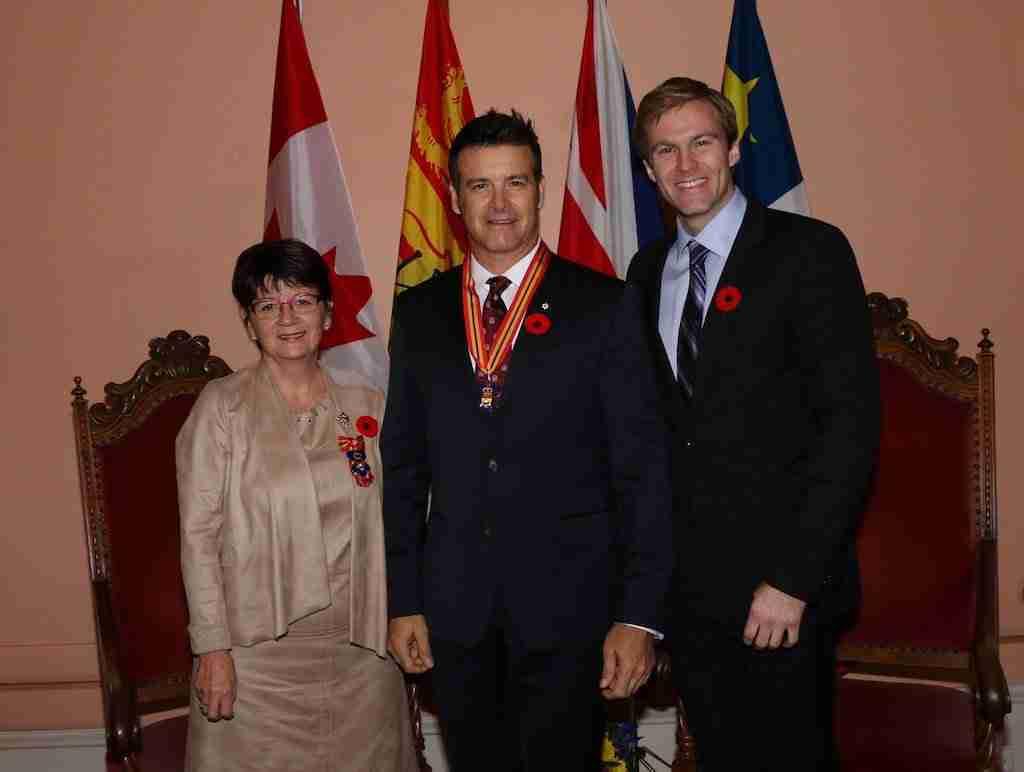 Roch Voisine - order of New Brunswick