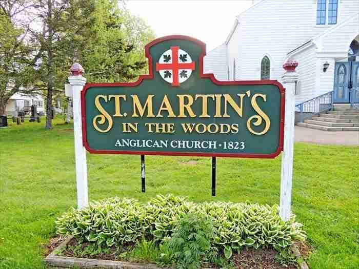 St. Martin in the Woods Church, Shediac