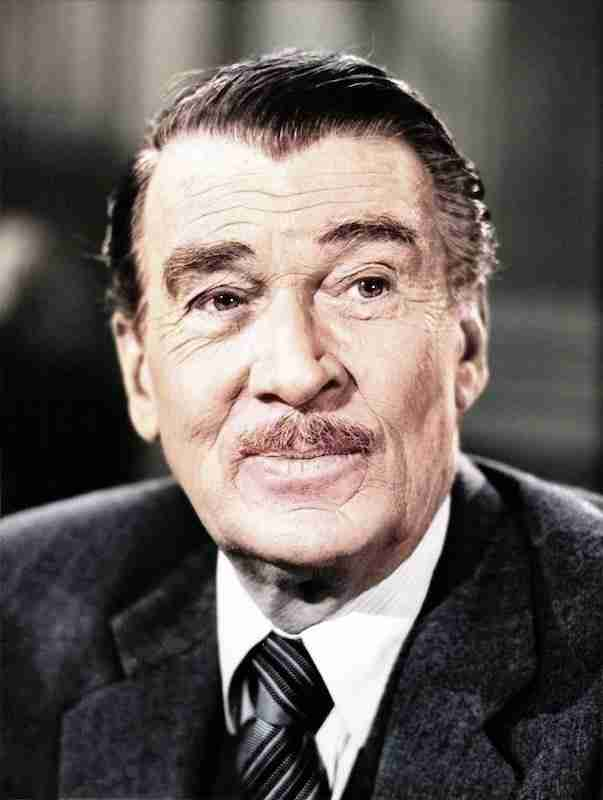Walter Pidgeon from the Perry Mason TV show 1963