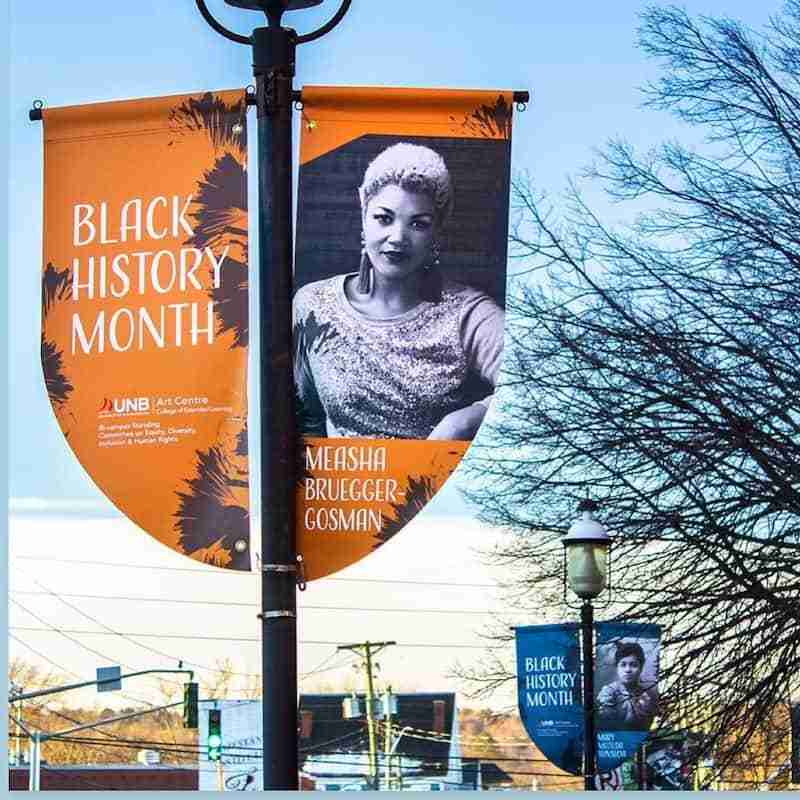 Measha Brugger-Gosman Black History Month Fredericton