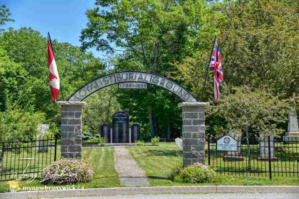 Loyalist Burial Ground St. Stephen