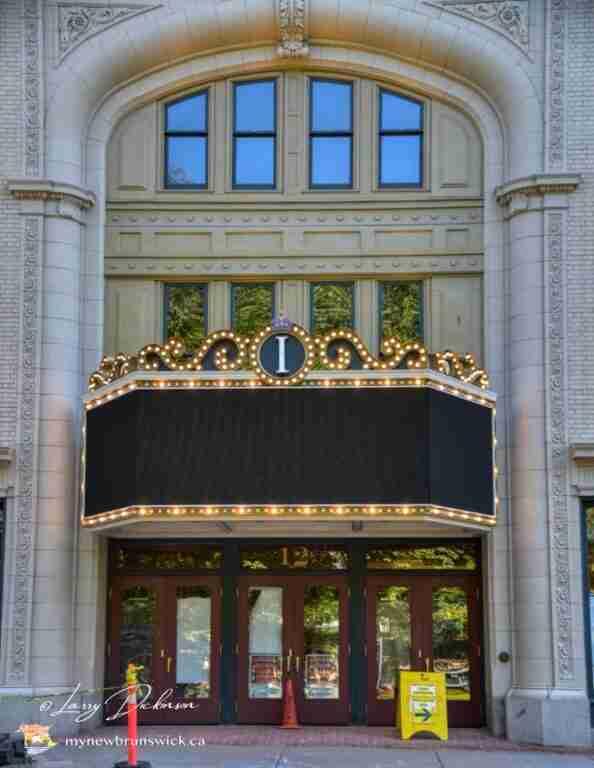 Imperil Theatre Saint John arch