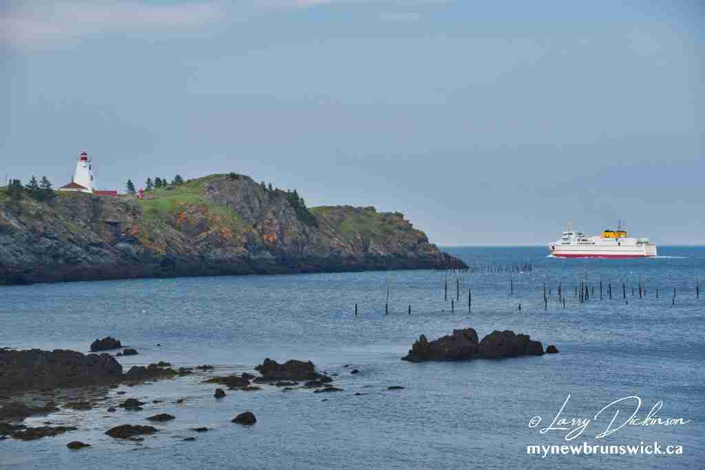Pettes Cove, Swallowtail Lighthouse, Grand Manan Ferry