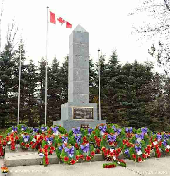 Oromocto Cenotaph