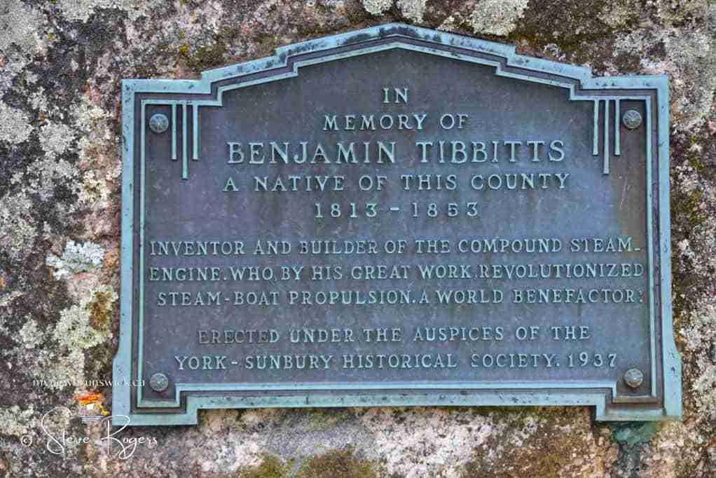 BenjaminTibbits plaque