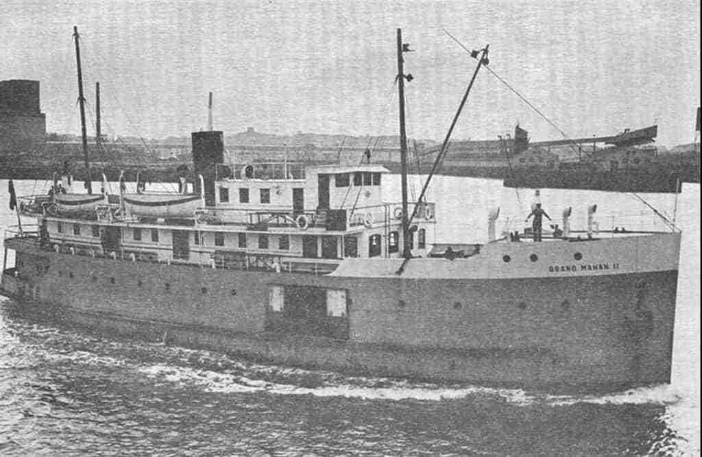 """M.V. Grand Manan II aka """"The Iron Duke"""" Service 1930-1940"""