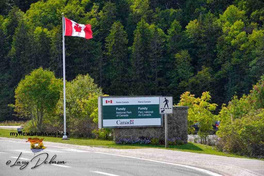 Fundy National Park Entrance at Alma