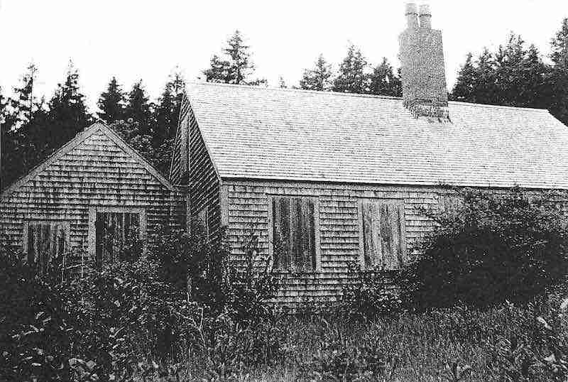 Willa Cather Cottage at Whale Cove