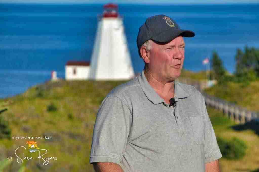 Ken Ingersoll, Swallowtail Lighthouse Keeper
